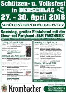 Schützenfest Derschlag 2018 @ Schützenplatz Derschlag