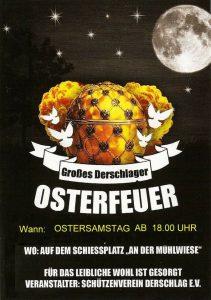 """Derschlager Osterfeuer 2019 @ Schießplatz """"An der Mühlwiese"""""""
